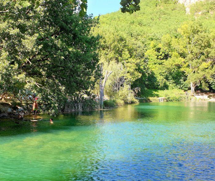 A dip in Sinizzo lake